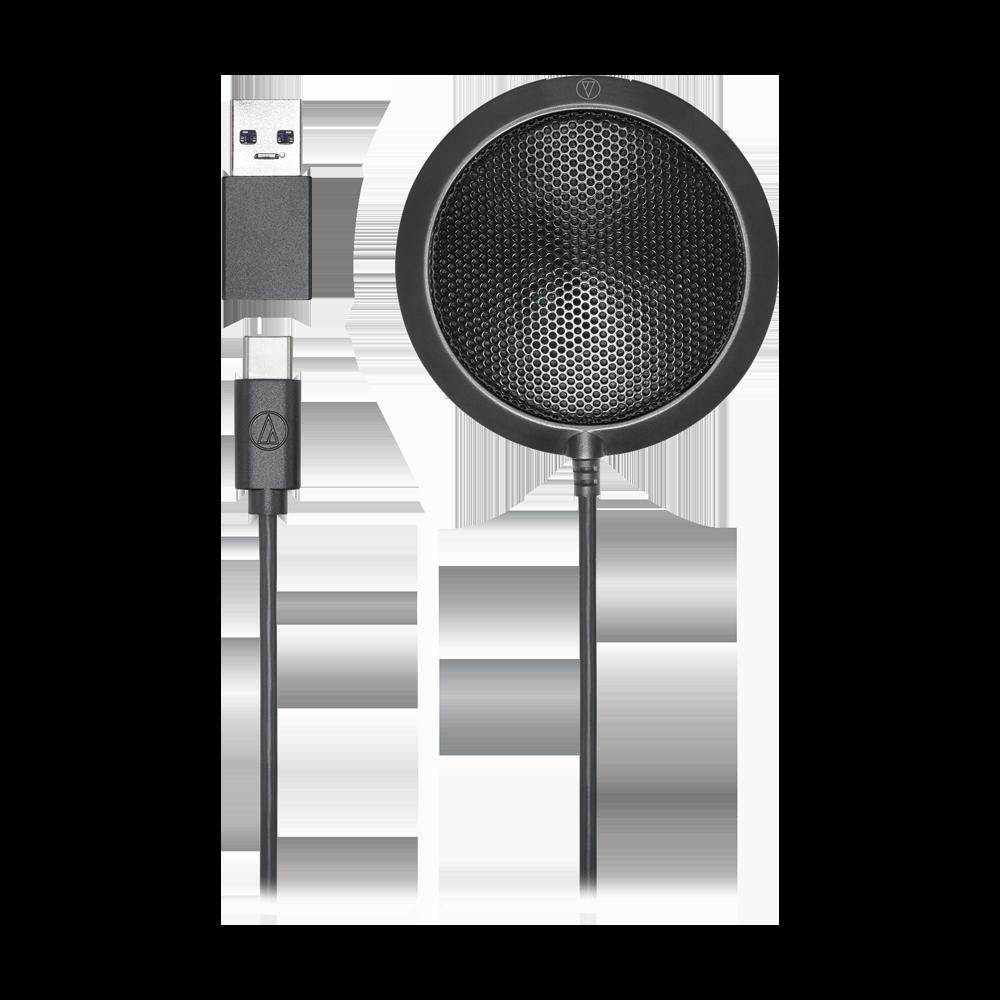 【宏華資訊廣場】Audio-Technica鐵三角 - ATR4697-USB 桌上型USB平面麥克風 公司貨