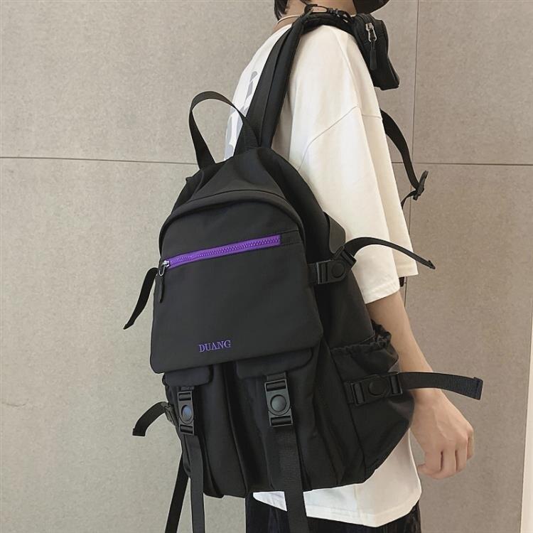 雙肩包2020年新款男時尚潮流街頭韓版休閒大容量背包學生書包