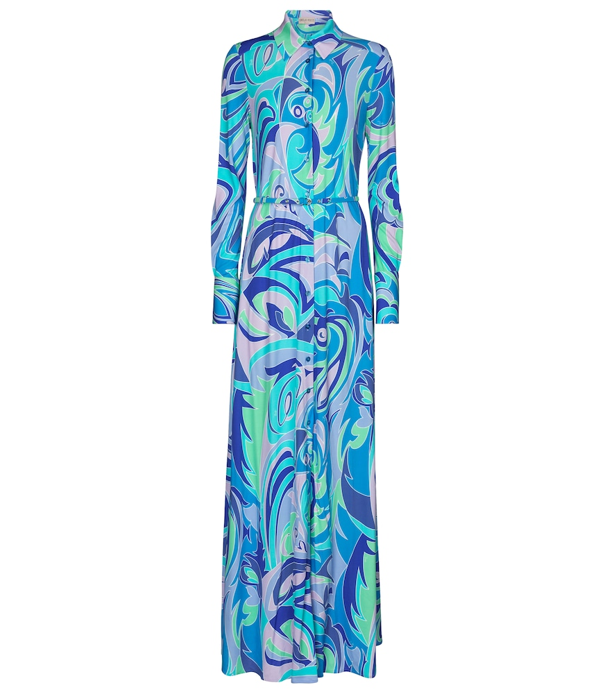 Exclusive to Mytheresa - Printed jersey maxi dress