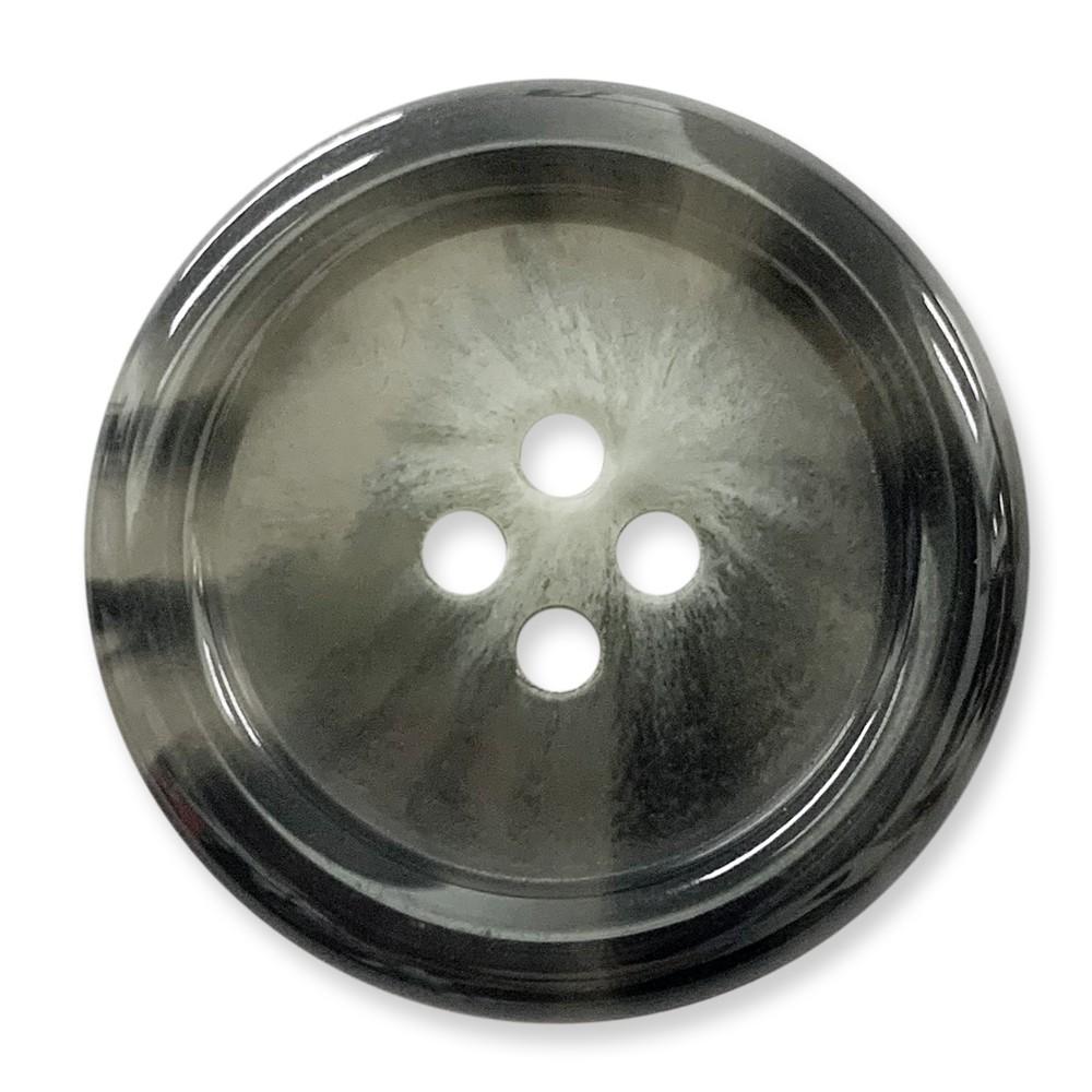 樹脂釦 polyester 4孔 亮面 10顆/組 西服鈕釦 大衣鈕釦 韓國製 7032 3號色