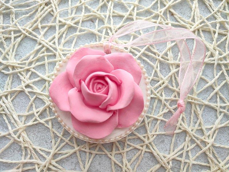 珍珠玫瑰擴香磚