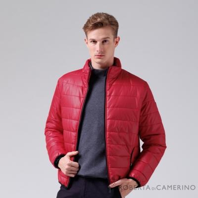 ROBERTA諾貝達 休閒極品 禦寒必備 厚舖棉夾克外套 紅色