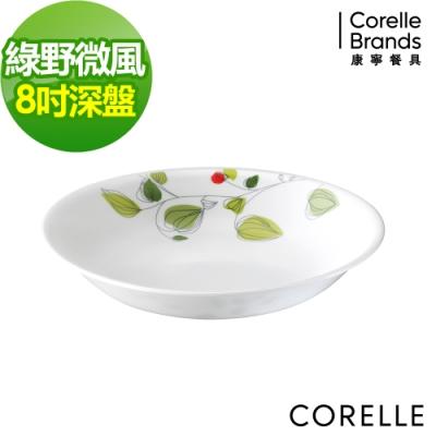 CORELLE康寧 綠野微風8吋深盤