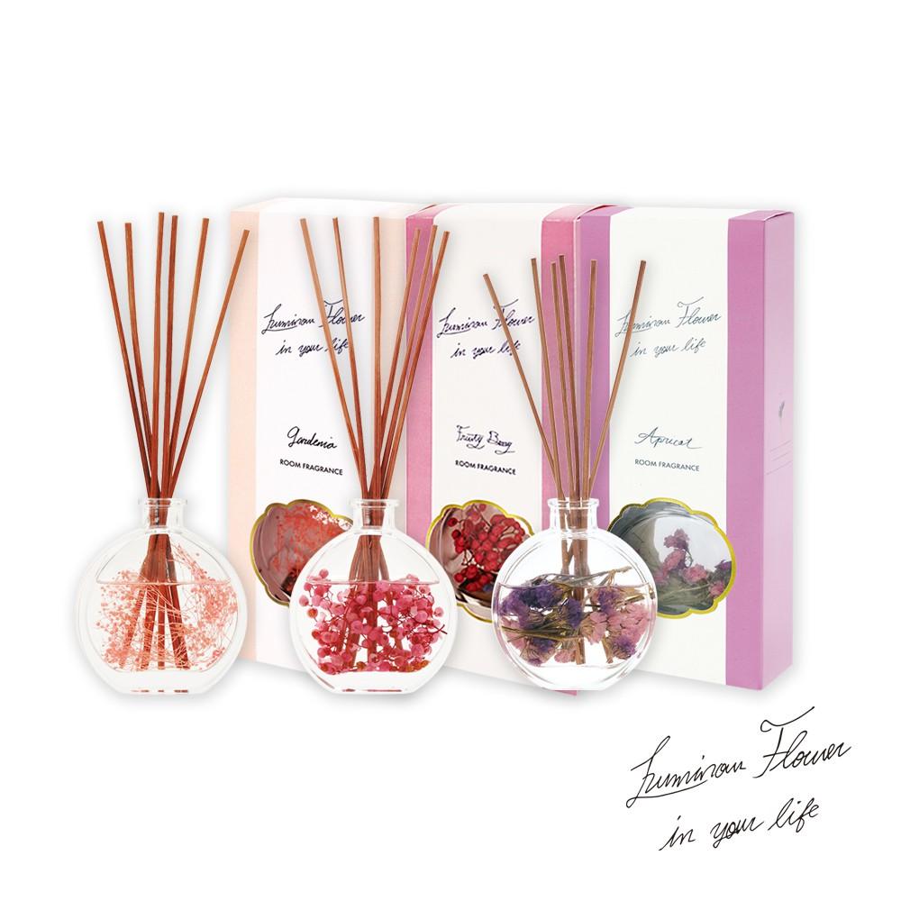 Luminous乾燥花香氛擴香瓶(3款選)【蝦皮團購】-3入組
