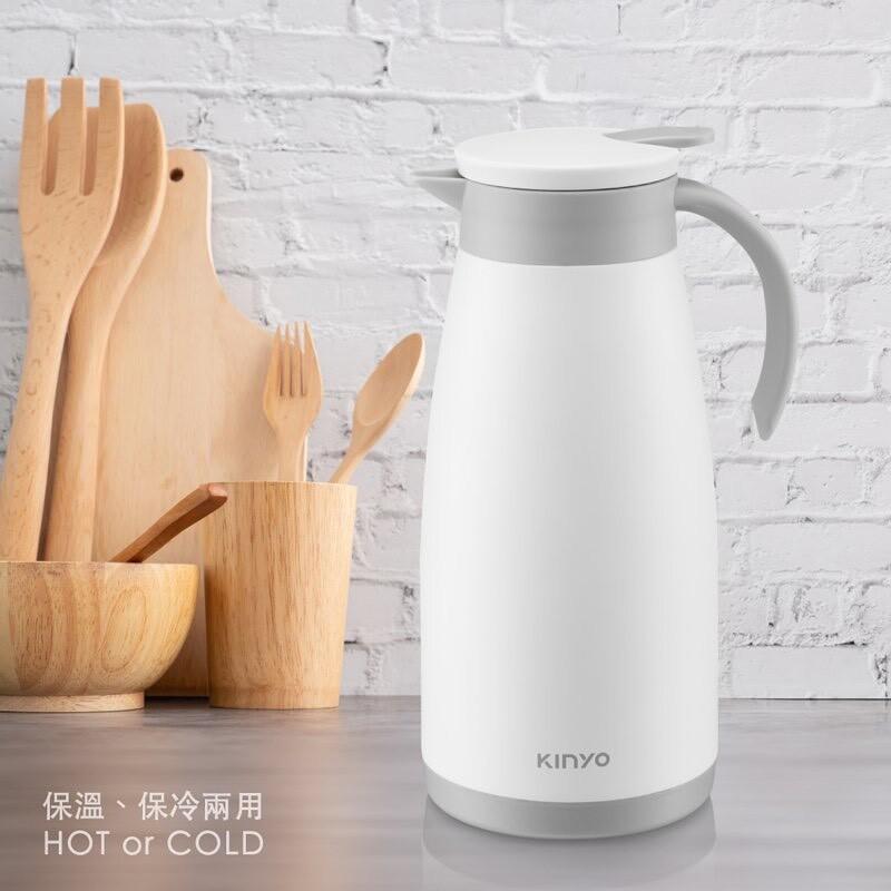 kinyo 304不鏽鋼真空保溫壺1.5l kim-42 保溫瓶 熱水瓶 熱水壺 冷水壺 保溫水壺