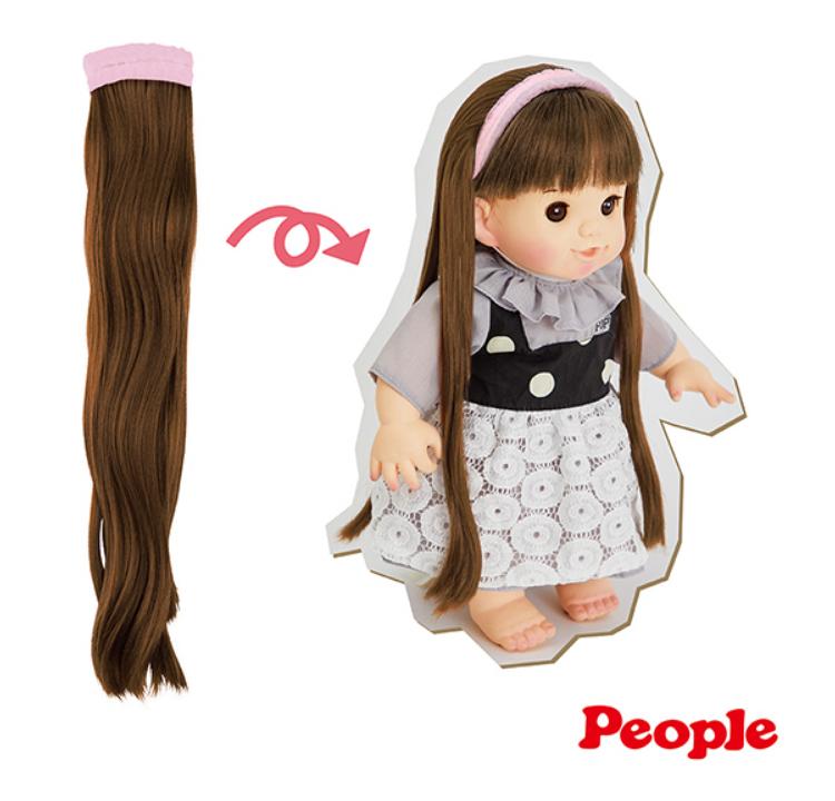 【紫貝殼】日本 POPO-CHAN 配件 超長髮道具組