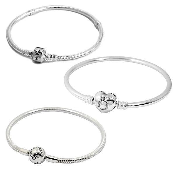 【南紡購物中心】PANDORA 潘朵拉 經典925純銀手鍊手環(17cm/18cm/19cm多款可選)