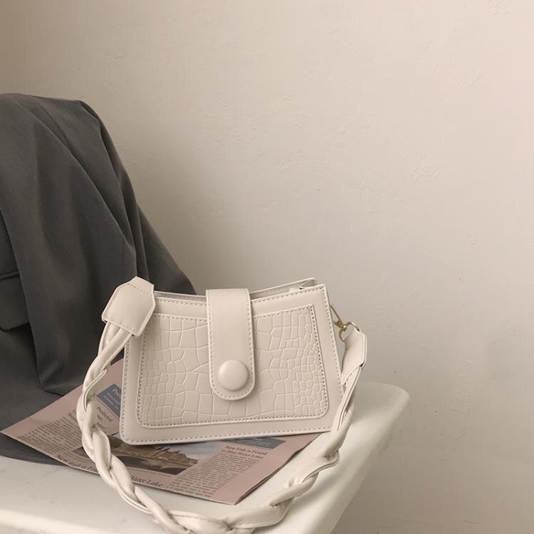腋下包女包包2020新款潮網紅鏈條小方包小眾設計包百搭ins斜背包