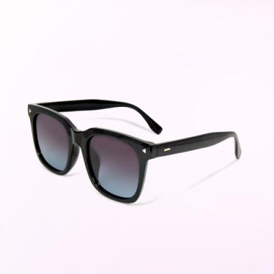 ALEGANT個性玩味海水漸層輕量TR90寶麗來偏光墨鏡│UV400太陽眼鏡│密西西比的藍調