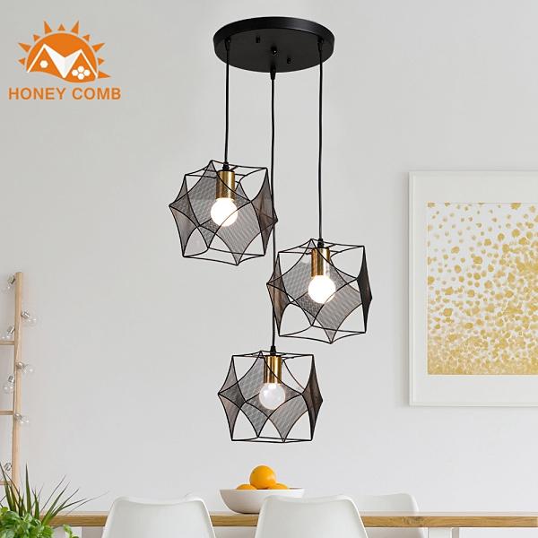 Honey Comb 北歐工業風餐廳三吊燈 KC2125