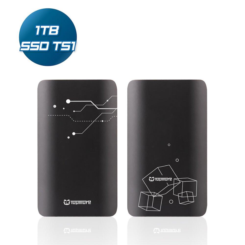 【達墨】Topmore Portable SSD 隨行固態硬碟 TS1 1TB《買就送TYPE-C充電線》