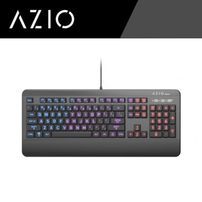 AZIO抗菌可水洗鍵盤