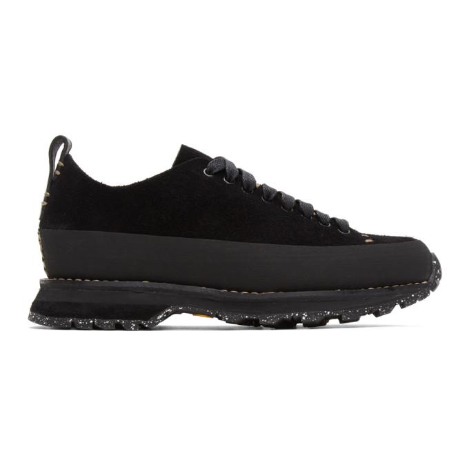 Feit SSENSE 独家发售黑色 Winterized Lugged Runner 运动鞋