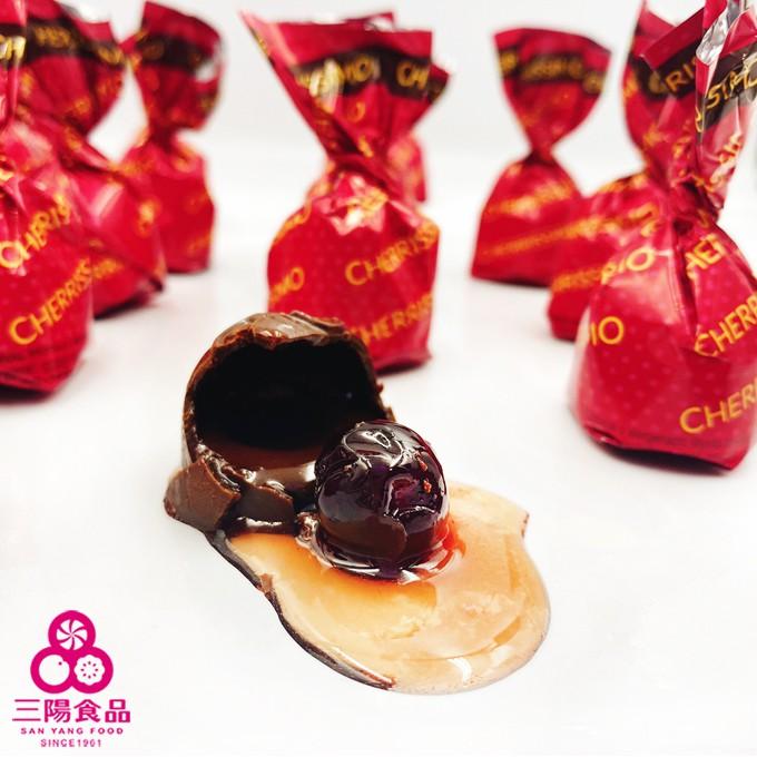 【三陽食品】櫻桃酒心巧克力