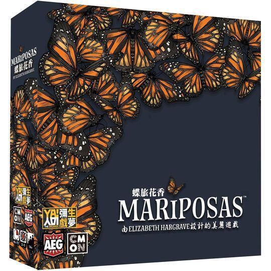 蝶旅花香 Mariposas 繁體中文版 高雄龐奇桌遊