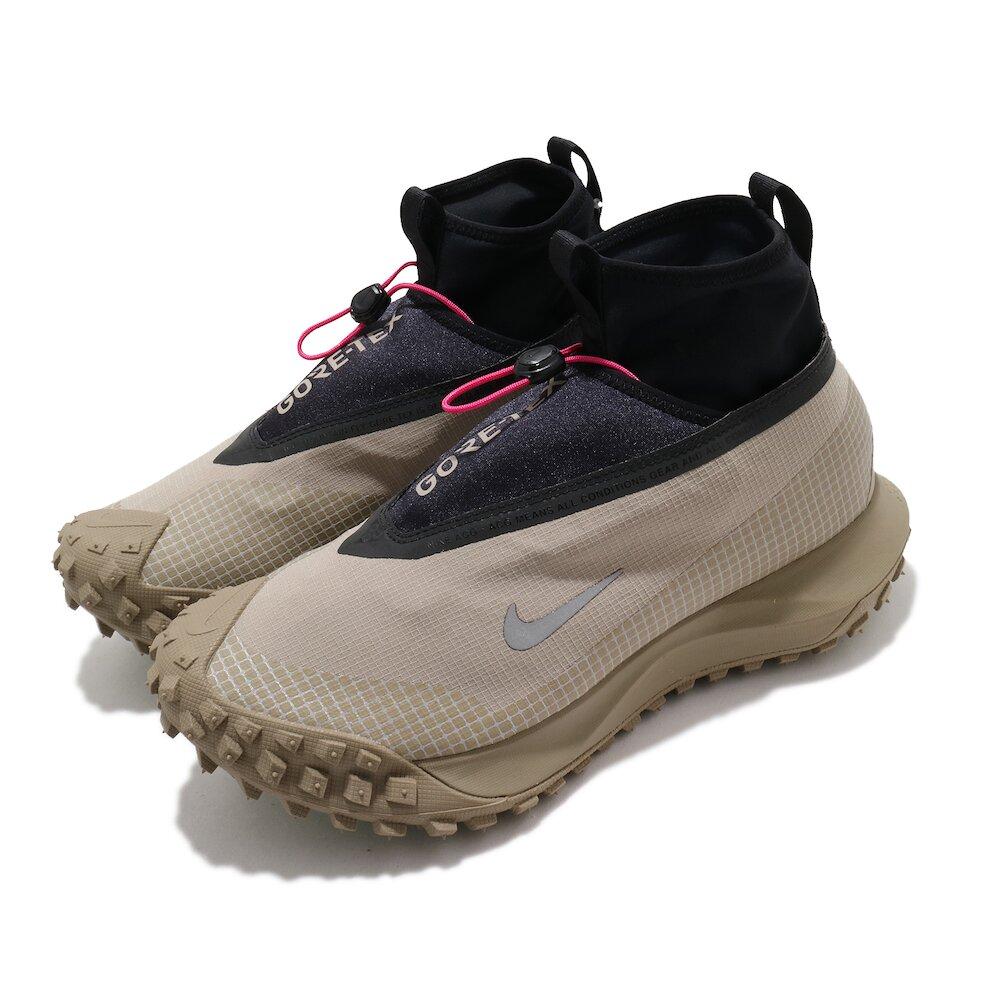 NIKE 休閒鞋 ACG Mountain Fly 男鞋 GTX 高筒 簡約 機能穿搭 反光 卡其 黑 [CT2904-200]