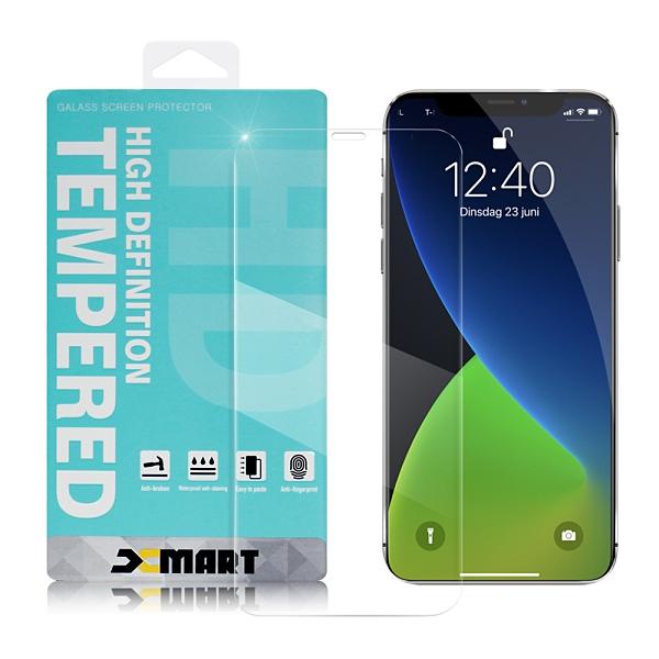 Xmart for iPhone 12/12 Pro 6.1吋 / 12 Mini 5.4吋 / 12 Pro Max 6.7吋 薄型 9H 玻璃保護貼-非滿版-2入組 請選型號
