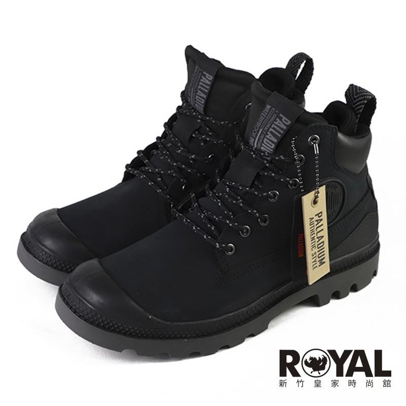 Palladium Pampa 黑色 麂皮 防水 軍靴 男女款NO.B1769【新竹皇家 76472-008】