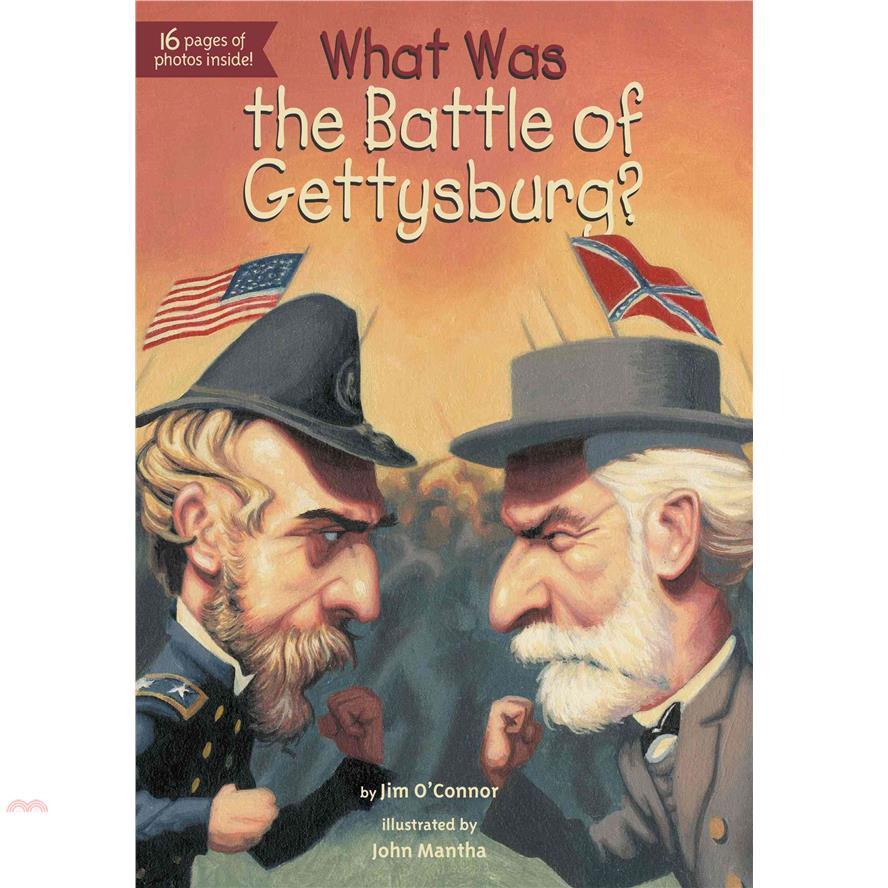What Was the Battle of Gettysburg?【三民網路書店】[75折]