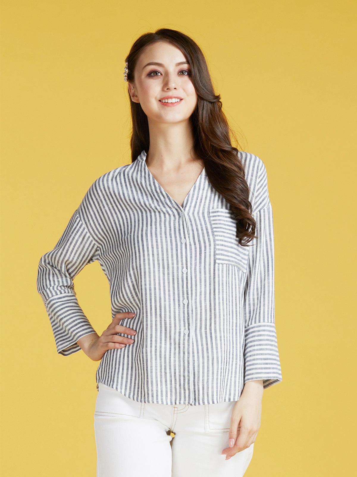 編織針織T-shirt