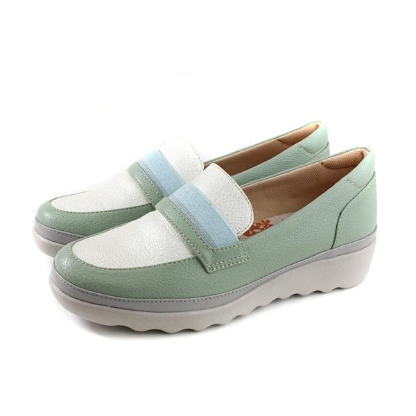 Moonstar Tatto 懶人鞋 保健鞋 綠/白 女鞋 TA077 no339