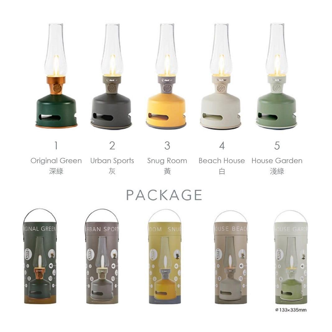 【MoriMori】戶外露營 LED煤油燈藍牙音響/造型音響燈