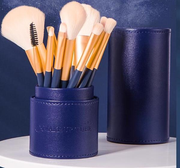 化妆刷 12支化妝刷 套裝全套眼影刷散粉刷修容腮紅刷化妝刷 子美妝工具【快速出貨八折鉅惠】