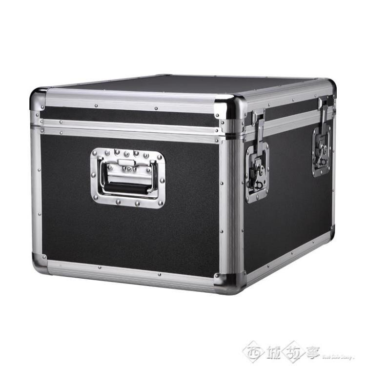 工具箱 特大號鋁合金工具箱工業級重型車載儲物收納鐵盒大號航空箱子定做