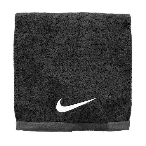 Nike Towel 60x120cm [N1001522010LG] 浴巾 運動 游泳 健身 吸水 柔軟 黑