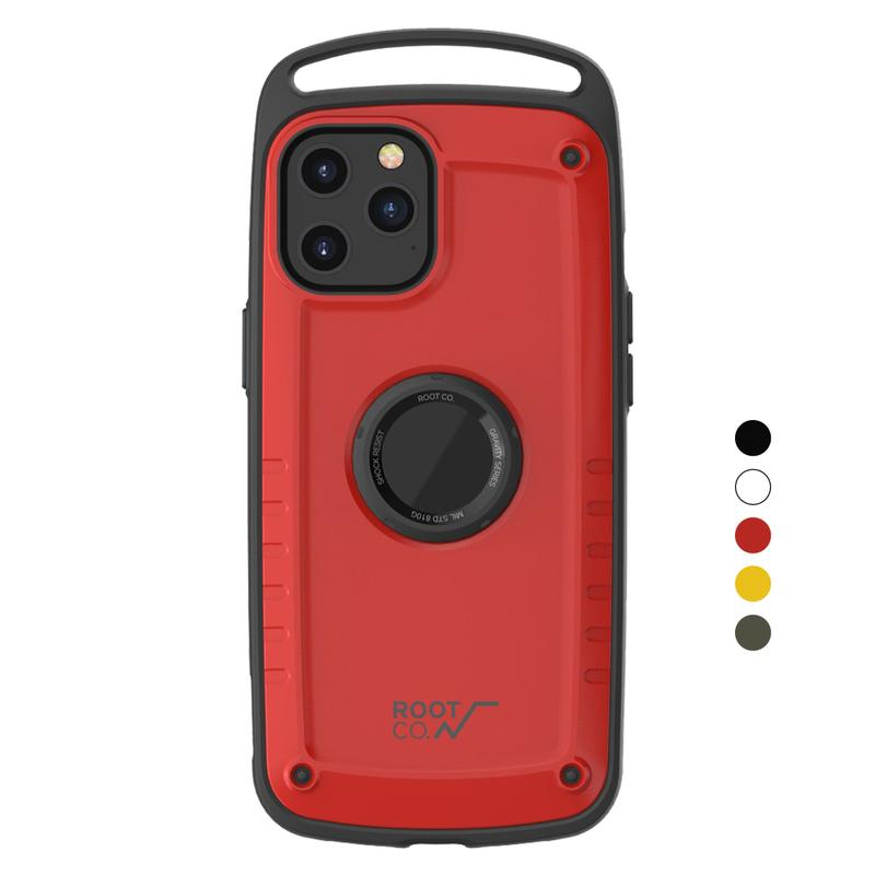 iPhone 12 Pro Max Gravity Pro 單掛勾式軍規防摔手機保護殼 - 共五色 白色