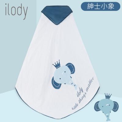 【英國 ilody】嬰幼兒6層綿紗多功能大浴巾/包巾 100x100cm (3款任選)