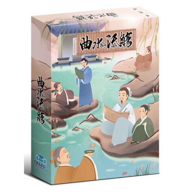 曲水流觴 繁體中文版 高雄龐奇桌遊