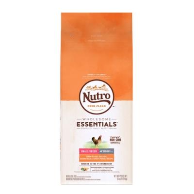 美國Nutro美士-全護營養小型犬-高齡犬關節保健配方 (農場鮮雞+糙米、地瓜) 5lbs/2.27kg (NS72621)