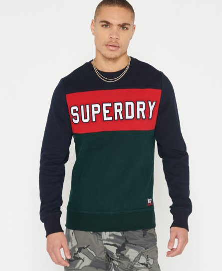 Superdry Academy Colour Block Sweatshirt