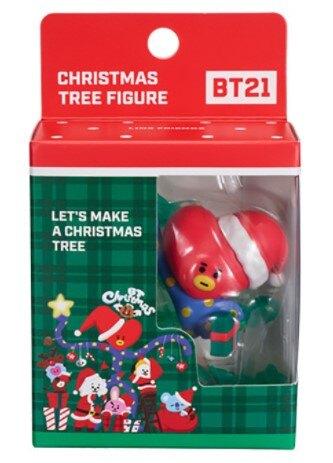 ☆勳寶玩具舖【現貨】YOUNG TOYS 宇宙明星 BT21 V  超級巨星聖誕樹  TATA