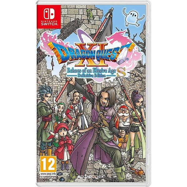 任天堂 NS Switch 勇者鬥惡龍 XI S 尋覓逝去的時光 Definitive Edition 歐美版 有中文