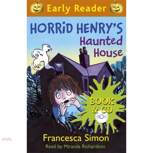 Early Reader #28: Horrid Henry's Haunted House【三民網路書店】[73折]