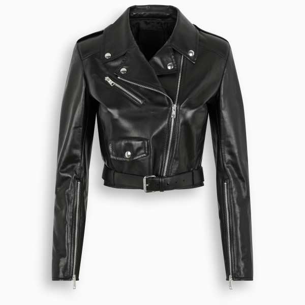 Prada Black biker jacket