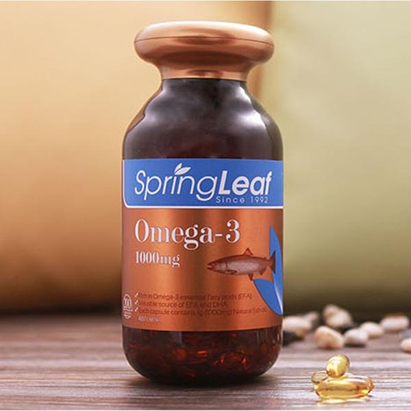 Spring Leaf 綠芙特級 純淨深海魚油 200顆/瓶