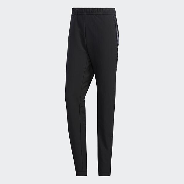 Adidas 3S WOVEN PNT 男裝 長褲 慢跑 網球 訓練 乾爽 腳踝拉鍊 黑【運動世界】FS3769