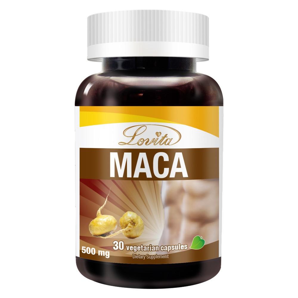 Lovita愛維他 3倍濃縮瑪卡1500mg素食膠囊 (馬卡)