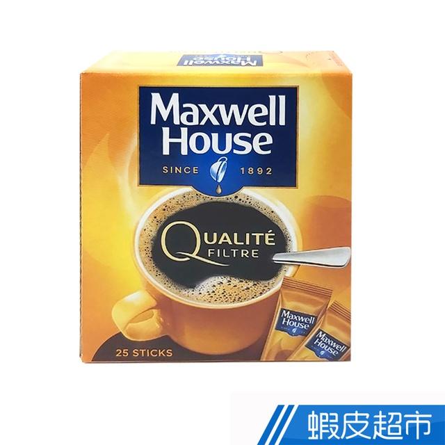 Maxwell麥斯威爾 歐式即溶咖啡條(25入) 蝦皮直送 (部分即期)