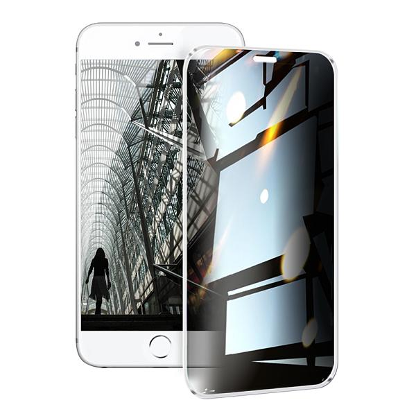 NISDA for iPhone 8 plus/7 plus/8/7/6 plus/6s plus/6/6s 防窺2.5D滿版玻璃保護貼 請選型號跟顏色