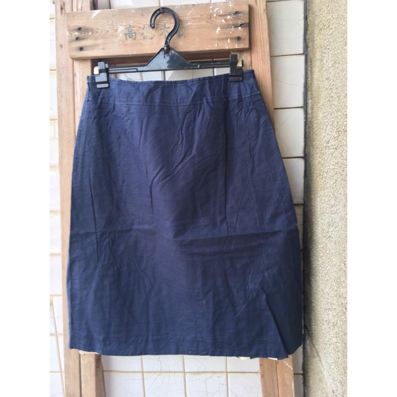 W28 日本製 麻質 38 開叉裙