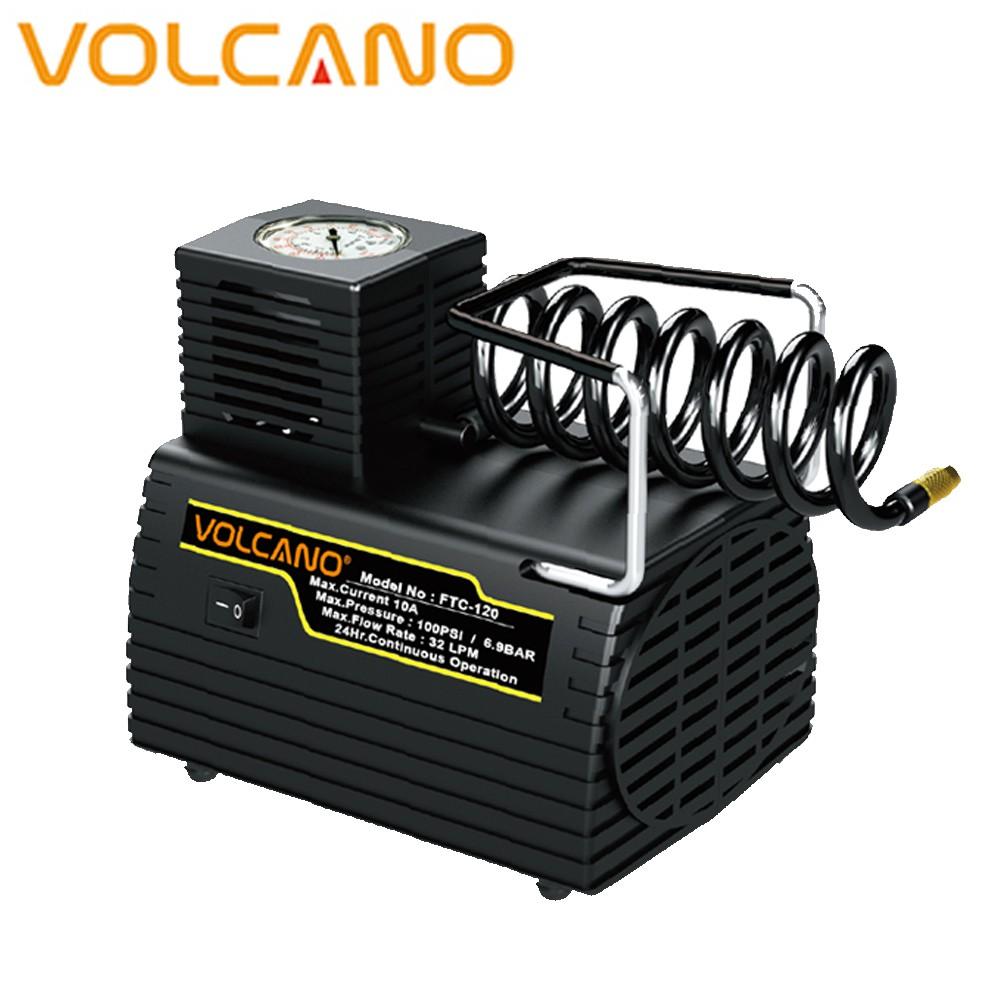 《VOLCANO》超級坦克汽冷電動打氣機(FTC-120)