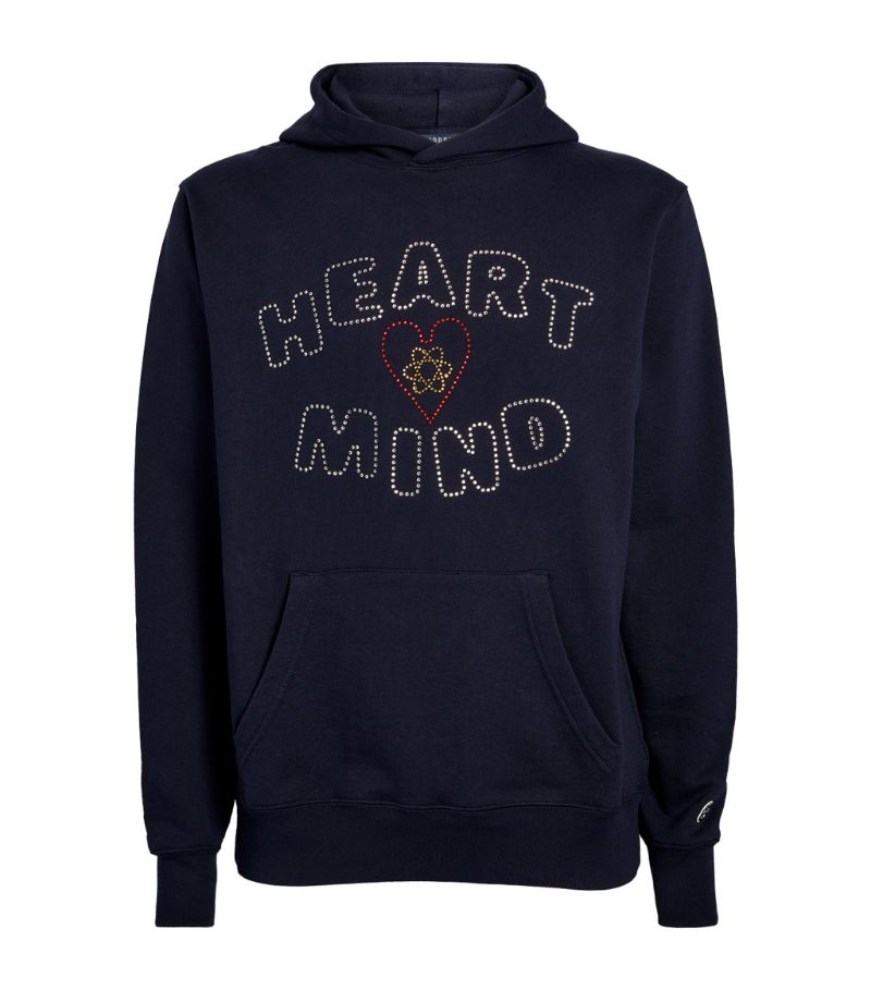 Billionaire Boys Club Swarovski Crystal Heart And Mind Hoodie