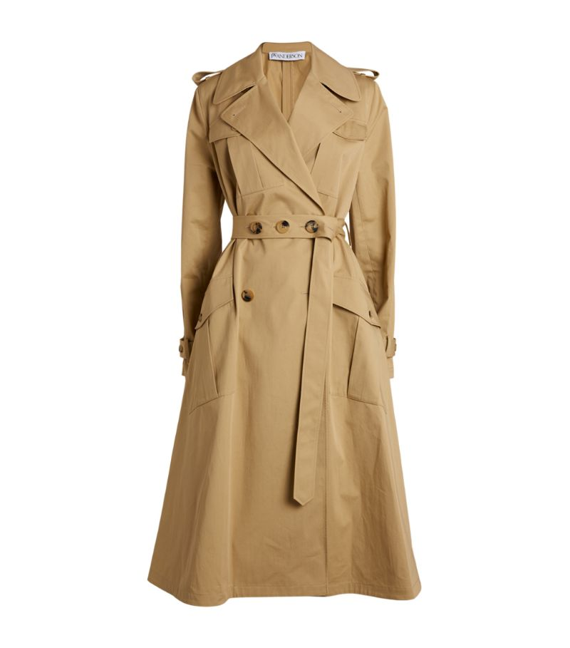 Jw Anderson A-Line Trench Coat