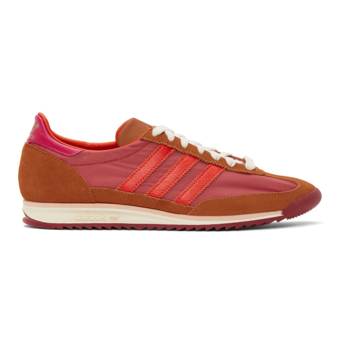 Wales Bonner 粉色 adidas Originals 联名 SL72 运动鞋