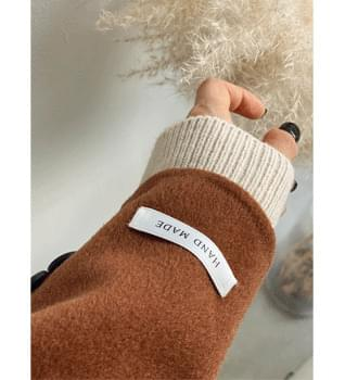 韓國空運 - Rudy Wool Handmade Coat #65899 大衣外套