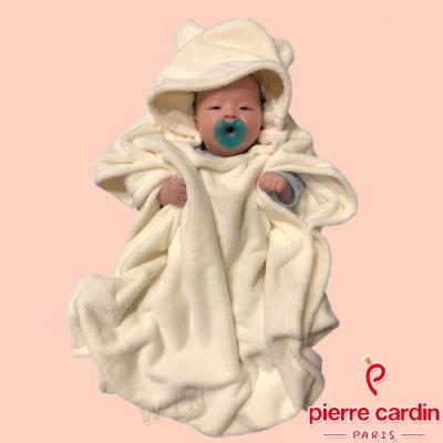 皮爾卡登 兒童連帽斗篷(KD190035米白色)